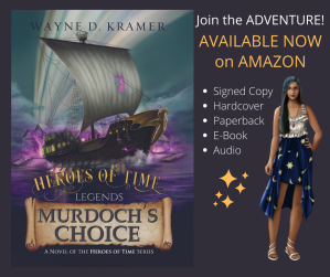 Heroes of Time Legends: Murdoch's Choice Debut Novel Pricing
